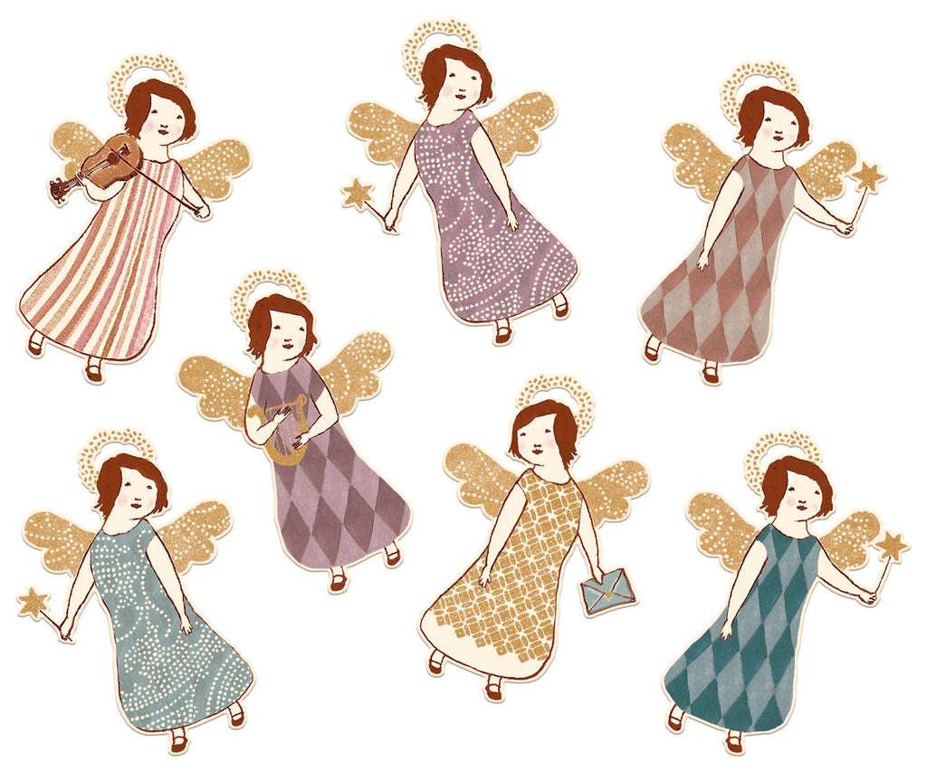 Maileg Set of 14 Angel Gift Tags