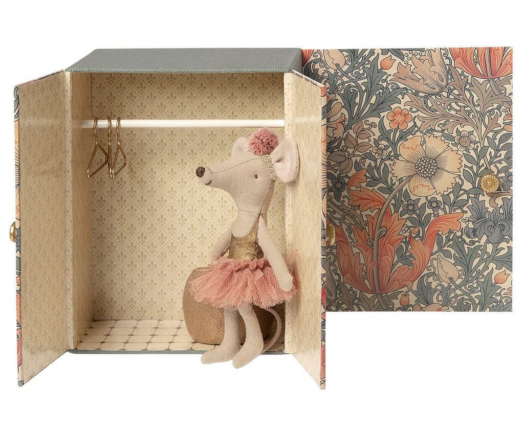 Maileg Dance Room with Big Sister Dance Mouse- Micro