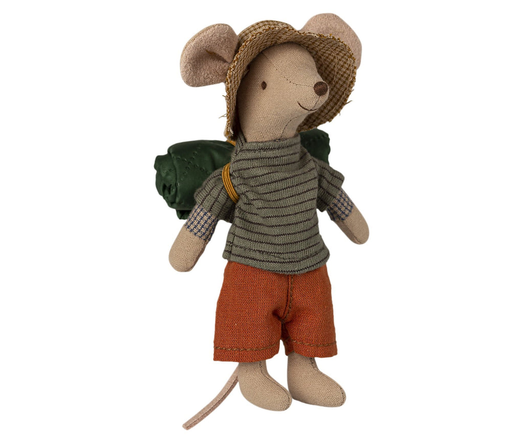 Maileg Big Brother Hiker Mouse Set