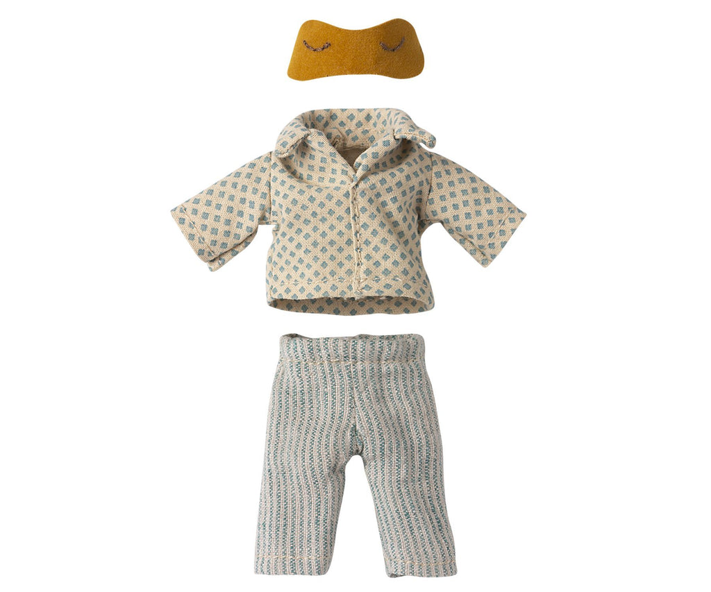 Maileg Pyjamas for Dad Mouse - 15 cm