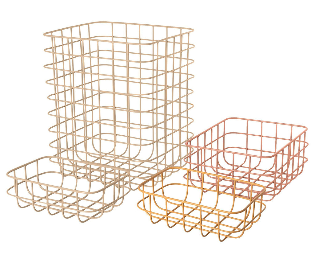 Maileg Set of Four Wire Baskets No. 2