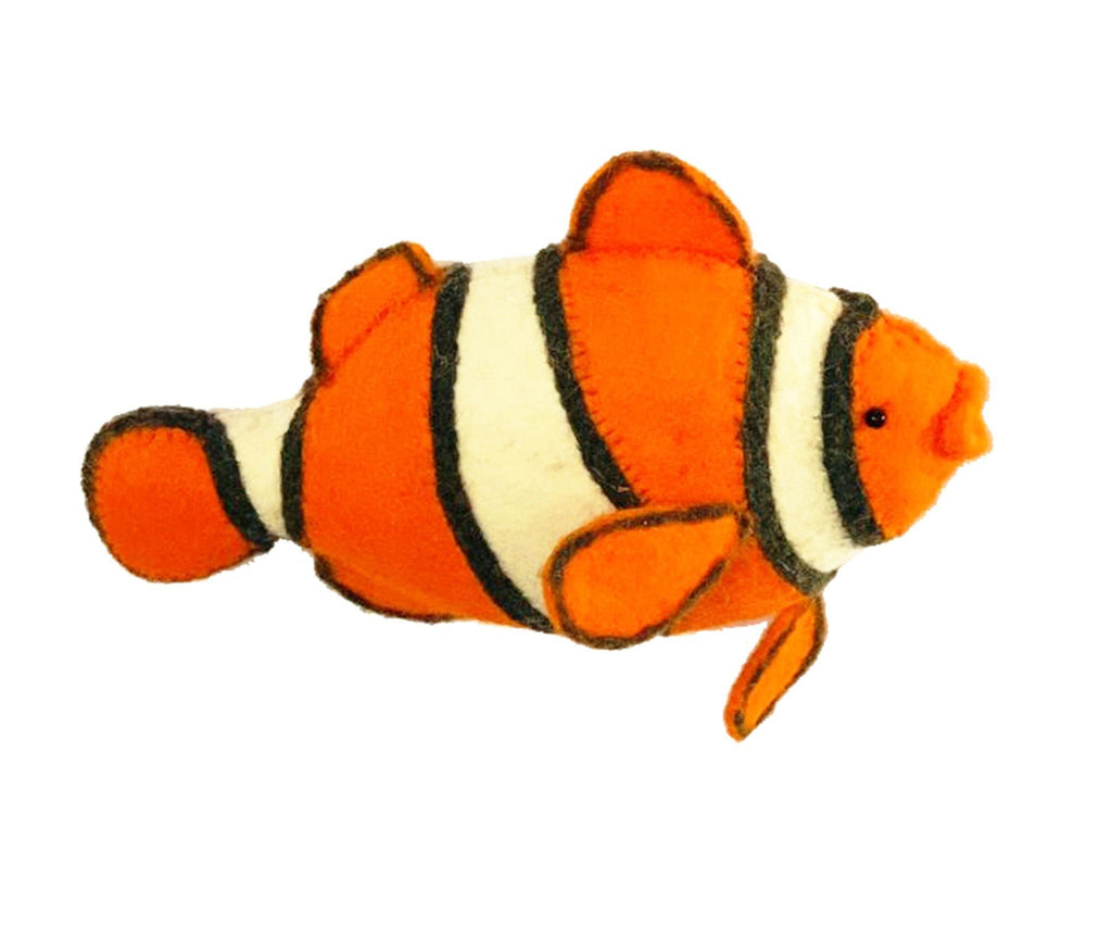 Fiona Walker England Mini Clown Fish Wall Mounted Decor