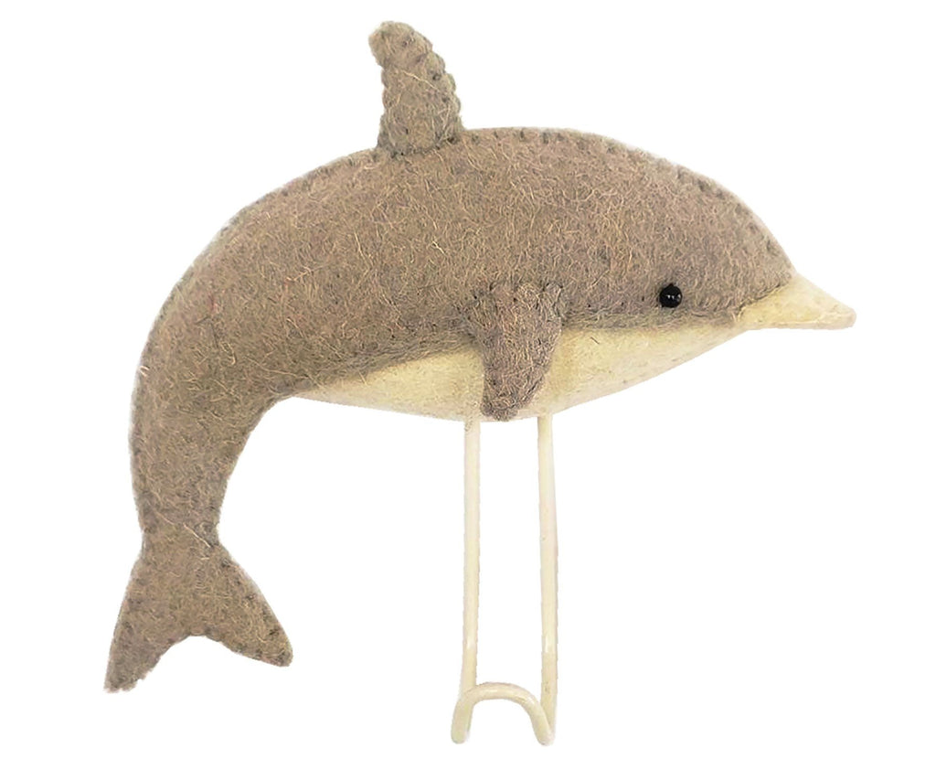 Fiona Walker England Dolphin Coat Hook