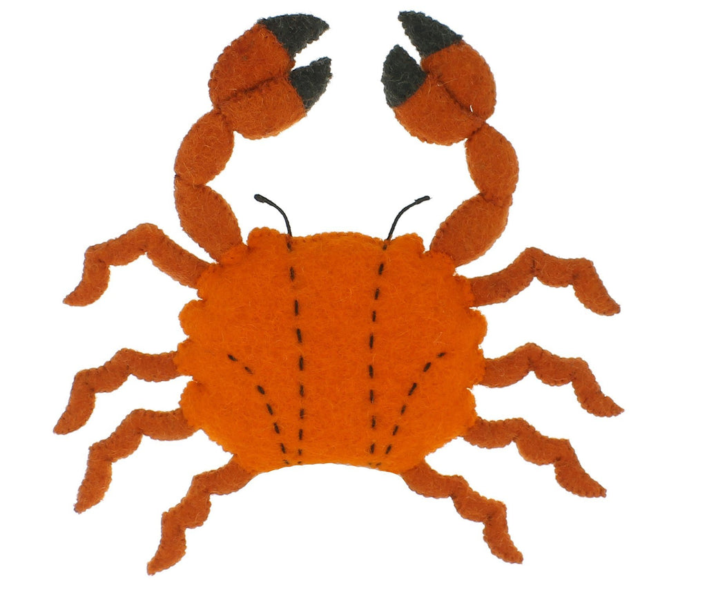 Fiona Walker England Mini Orange Crab - Bijou Lifestyle