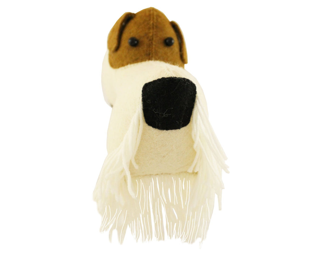 Fiona Walker England Fox Terrier Head Mini