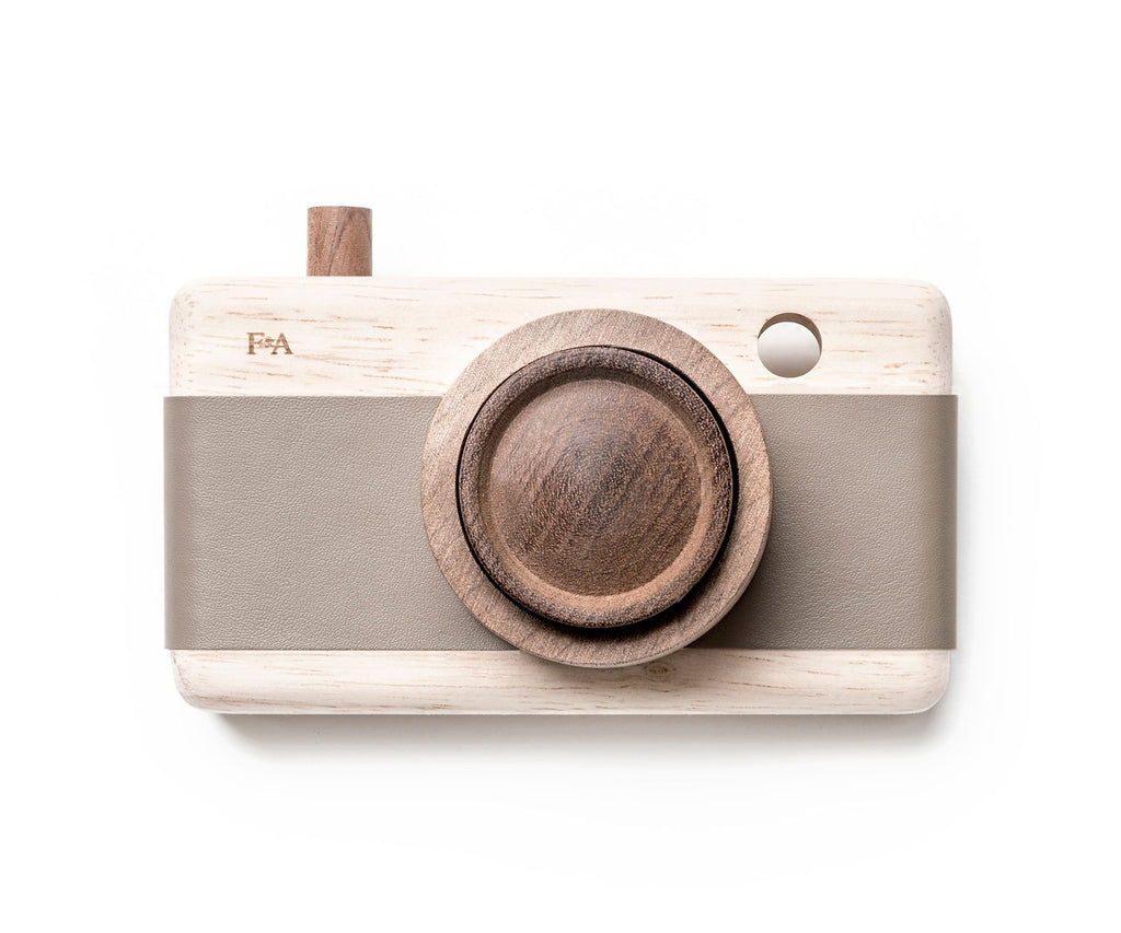 Fanny and Alexander Wooden Zoom Camera River Pebble Grey