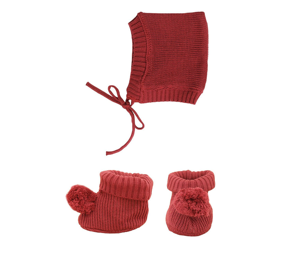 Olli Ella Dinkum Doll Knit Set Plum
