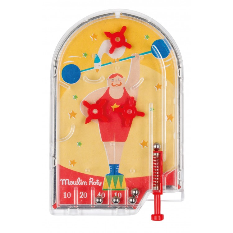 Moulin Roty Mini Pinball Weightlifter