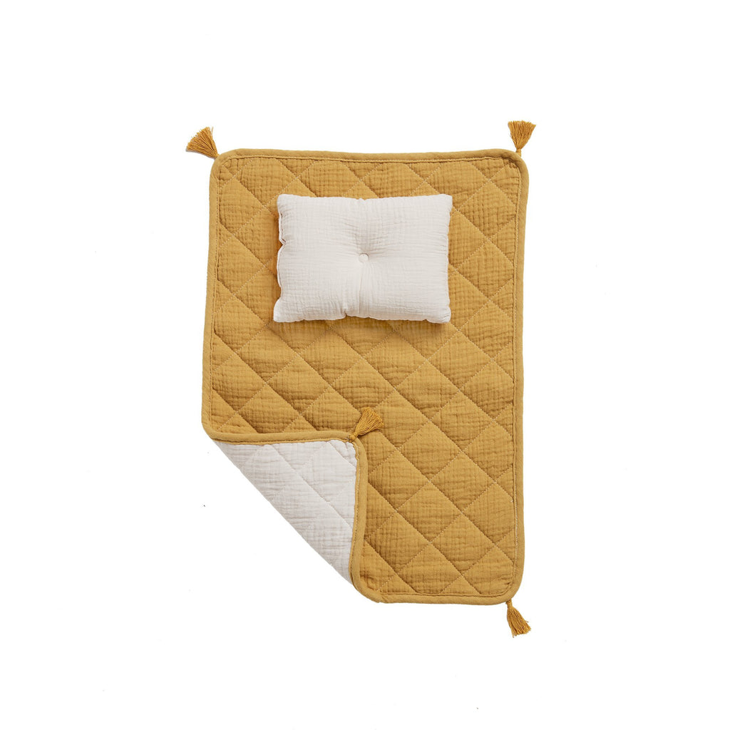 Olli Ella Strolley Bedding Set - Mustard