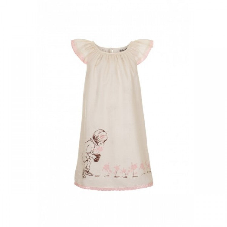 Belle & Boo Evie's Flower Dress - Bijou Lifestyle