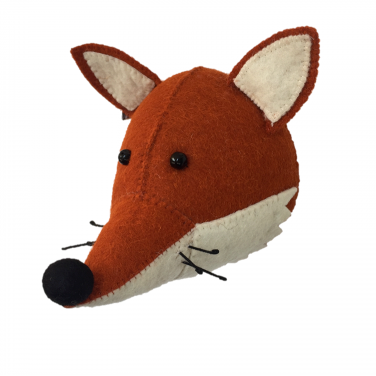 Fiona Walker England Mini Fox Head