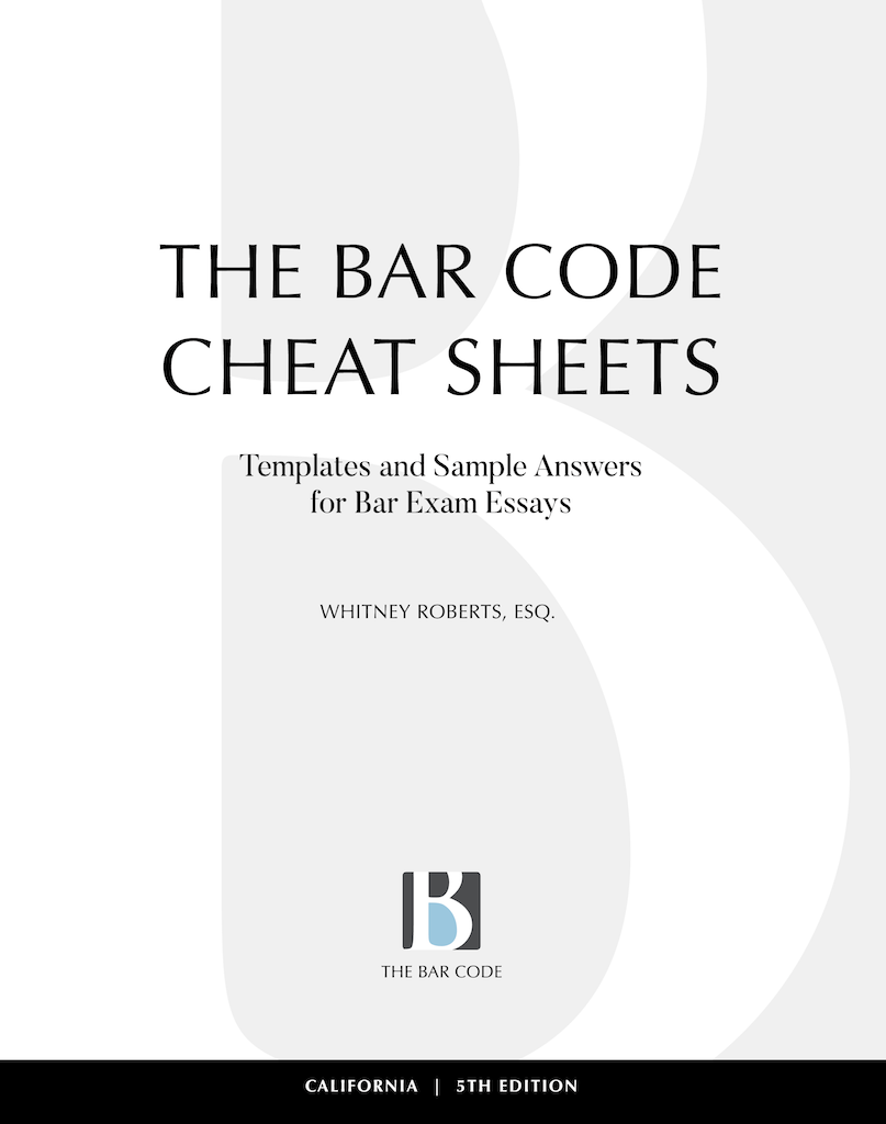 The Bar Code Cheat Sheets, 5th Edition (May, 2019)