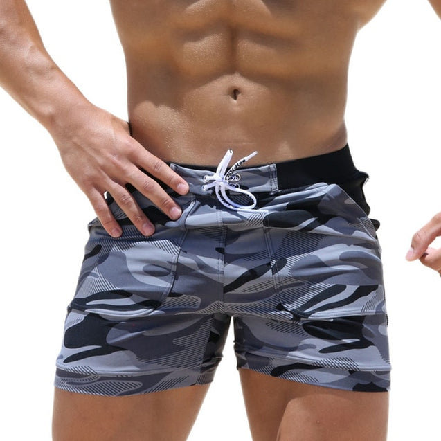 Men's Spandex Beach Swimwear Shorts