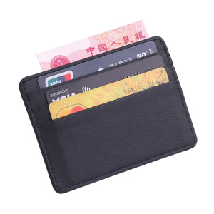 Travel Lichee Leather Wallet
