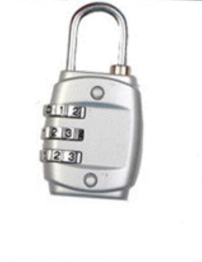 New Resettable 3 Digits Combination Suitcase Lock