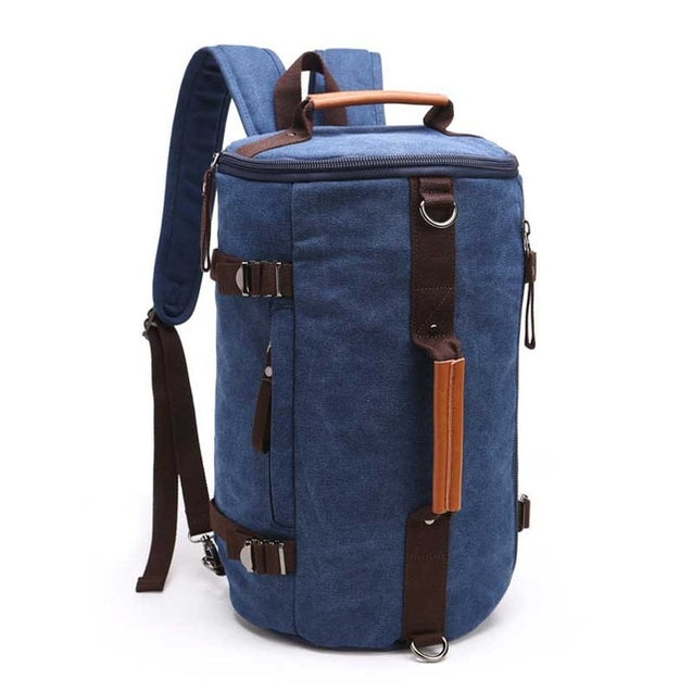 Men Quality Canvas Travel Backpack