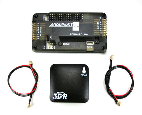 APM 2.6 Assembled Set Including uBlox LEA-6 GPS and XT60 Power Module