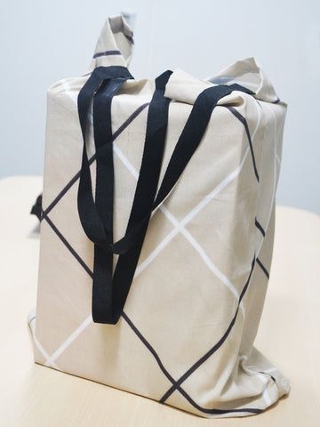 <SMALL><B><strong>ECO CARRY BAG </B></strong></SMALL>Heavy Duty Tote-Bag With 20Kg Capacity Made From Upcycled Materail [Get Surprised : Photo Only For Ref-Actual Prints Will Vary From The Image] <small> (abstract-assorted)</small>