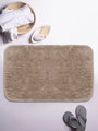 <SMALL><B><strong>PLUSH </B></strong></SMALL>Ultra-Soft Fluffy Bath Mat With Non-Slip Rubber Backing<SMALL>  ∙ 1pc ∙</SMALL> <small> (plush-khaki)</small>
