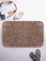 <SMALL><B><strong>PLUSH </B></strong></SMALL>Ultra-Soft Fluffy Bath Mat With Non-Slip Rubber Backing<SMALL>  ∙ 1pc ∙</SMALL> <small> (plush-mocha)</small>