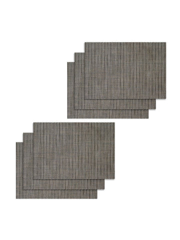 <SMALL><B><strong>BELLEVUE </B></strong></SMALL>Easy Clean Luxury Woven Pvc Dining Place-Mat <small> (bellevue-antique sage)</small>