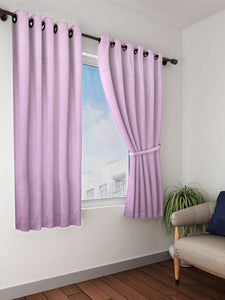 Bianca blue solid premium blackout window curtain