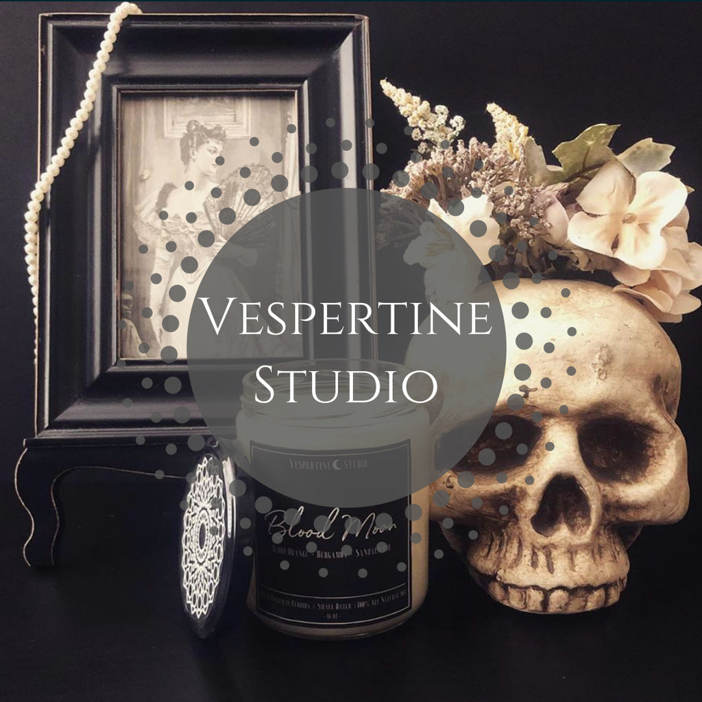 About Vespertine Studio's Nature Safe Soy Candles