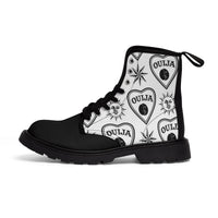 Ouija Planchette High-top Boots - SweetWitch
