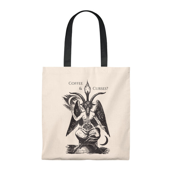 Coffee & Curses Tote - SweetWitch