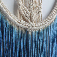 Hand-Dyed Macrame Tapestry - SweetWitch
