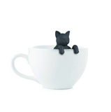 Black Grey Pet Cat Tea Infuser Food Grade Silicone Rubber Purrtea Animal Dog Tea Infuser Tea Strainer - SweetWitch