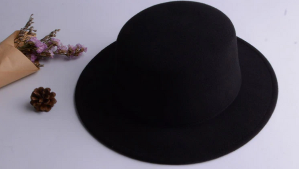 Flat Top Witch Hat (Without Bow) - SweetWitch