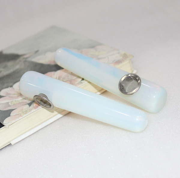 Opalite Crystal Pipe - SweetWitch