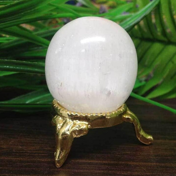 Selenite Scrying Ball - SweetWitch