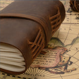 The Traveler Leather Bound Spell Book - SweetWitch