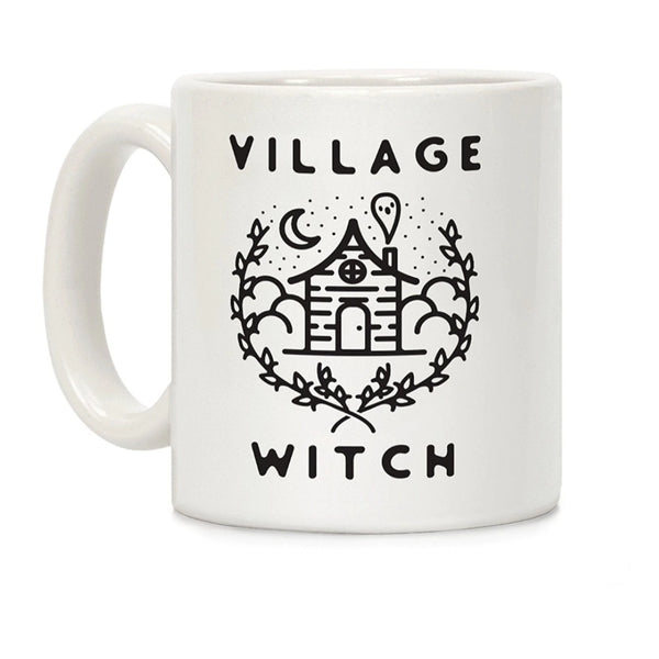 Village Witch Ceramic Coffee Mug - SweetWitch