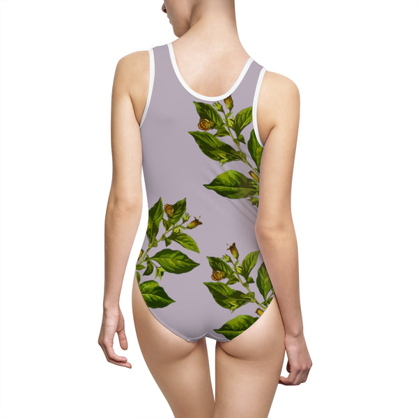 Belladonna One-Piece Swimsuit - SweetWitch
