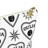 T-bottom Ouija Print Makeup Bag - SweetWitch