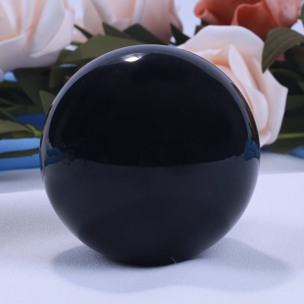 Large Obsidian Crystal Scrying - SweetWitch