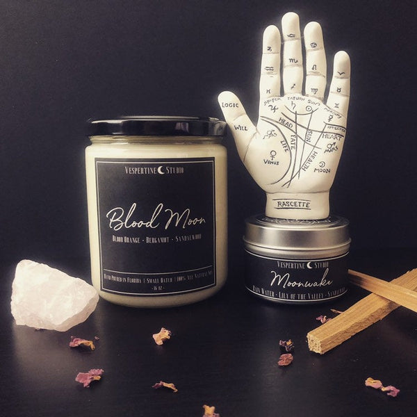 Blood Moon Soy Candle - SweetWitch