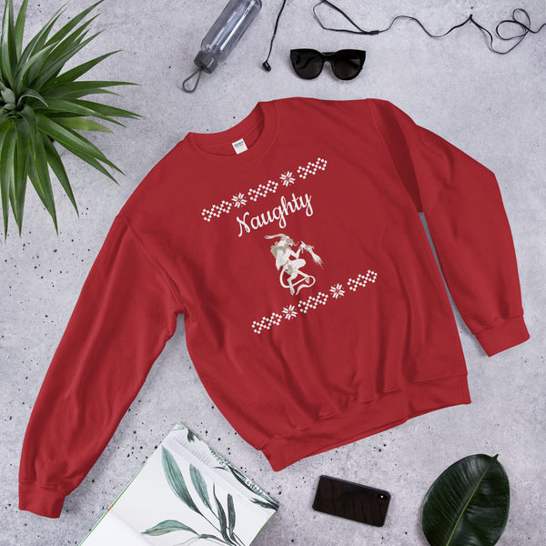 Krampus Ugly Sweatshirt - SweetWitch