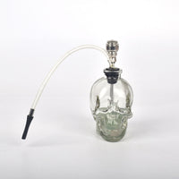 Glass Skull Shaped Mini Hookah - SweetWitch