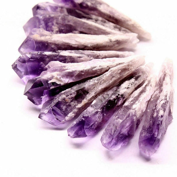 Natural Amethyst Crystal Point - SweetWitch