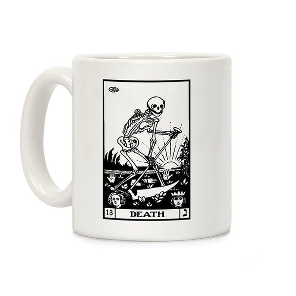 Death Tarot Ceramic Mug - SweetWitch