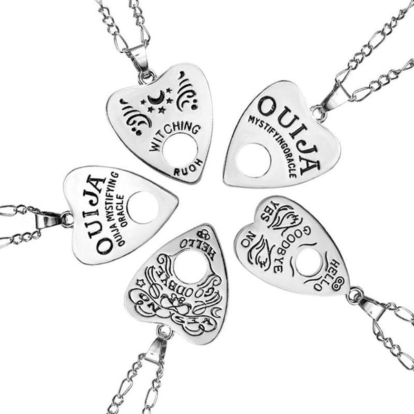 Ouija Board Planchette Necklace - SweetWitch