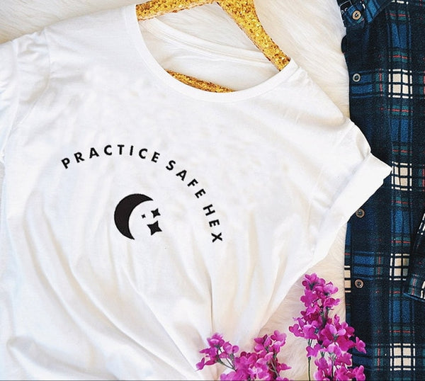Practice Safe Hex Tee - SweetWitch