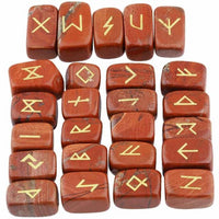 Square & Tumbled Rune Stones (9 colors available!)