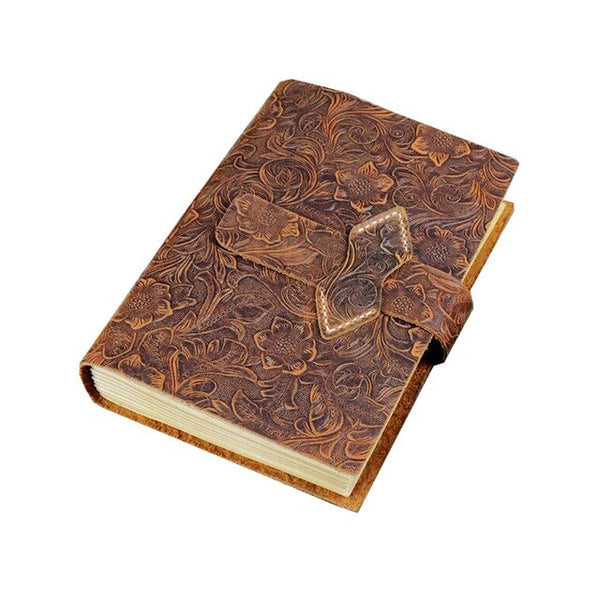Woods Witch Leather Bound Spell Book - SweetWitch