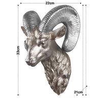 Ram Head Wall Hanging