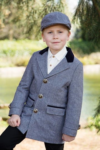 Boys Blue jacket & Hat
